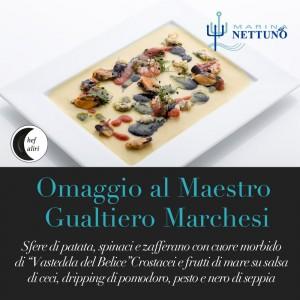 antipasto Omaggio al Maestro Gualtiero Marchesi
